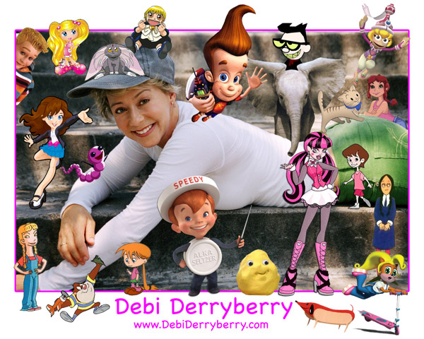 Debi Derryberry Animation Voice Characters