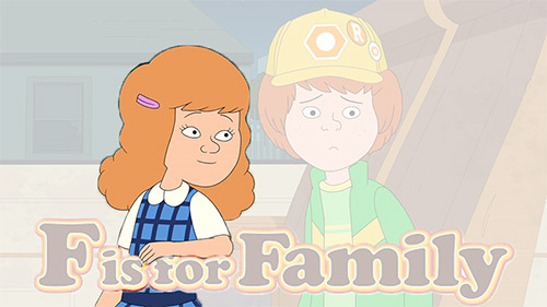 Debi Derryberry - voice of Bridget in F is for Family