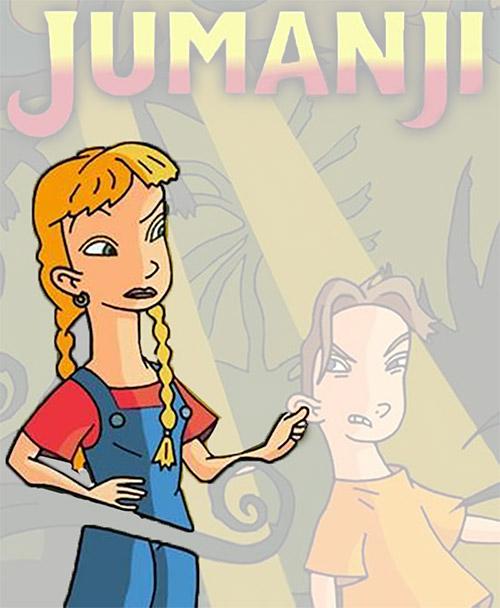 Debi Derryberry - voice of Judy in Jumanji